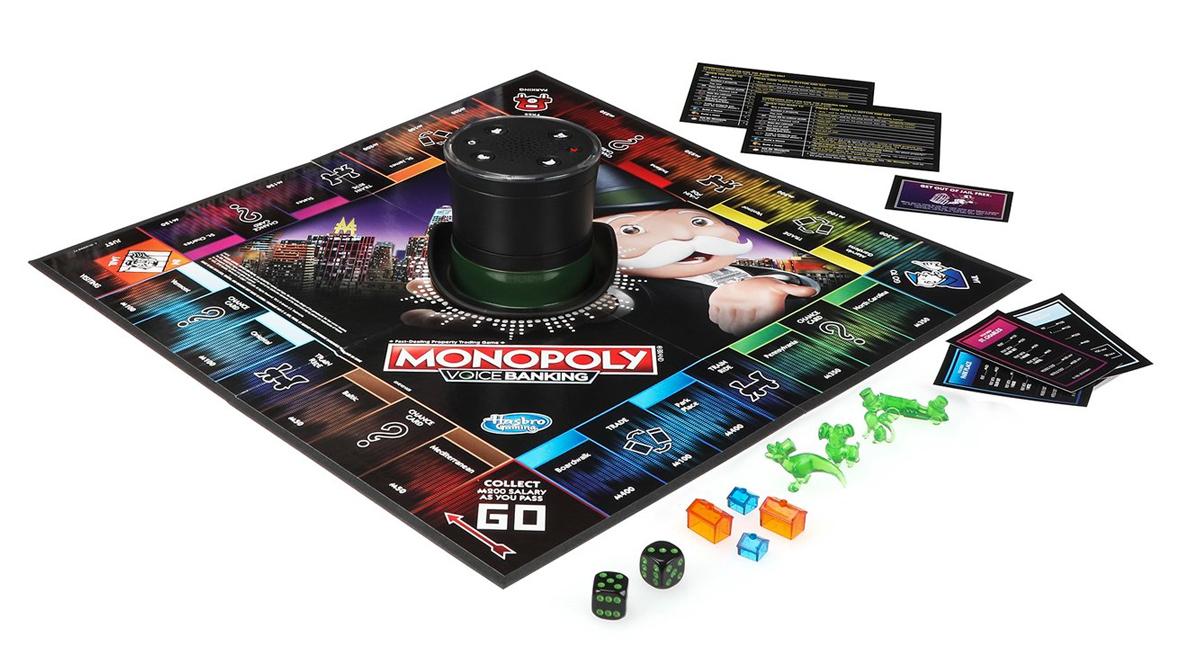 Monopoly Voice Banking jeu société argent
