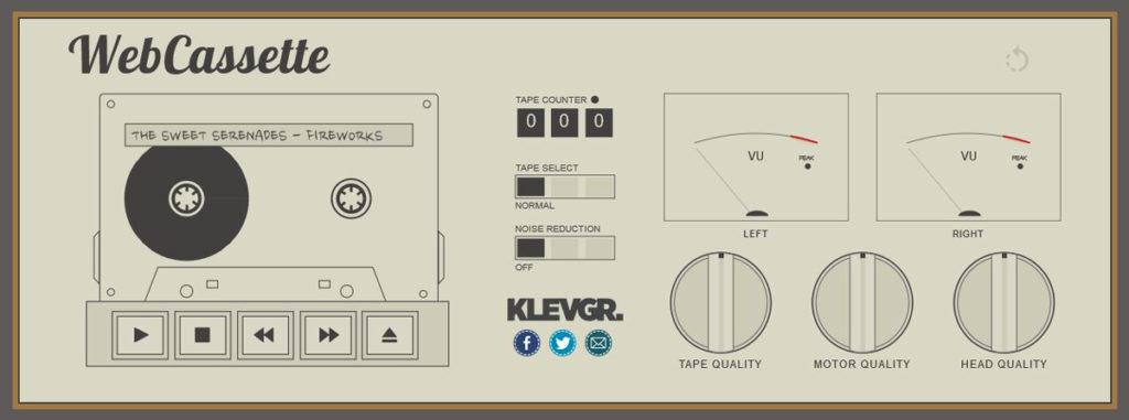 webcassette simulateur cassette