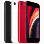 iPhone SE 2020 rouge noir blanc