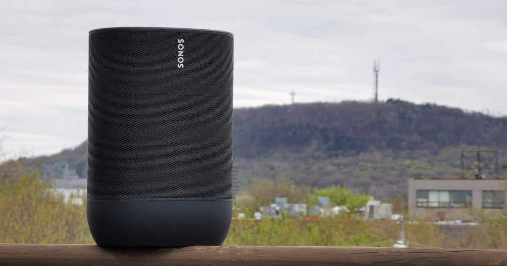 Sonos Move haut-parleur idée cadeau techno extérieur résistant aux intempéries