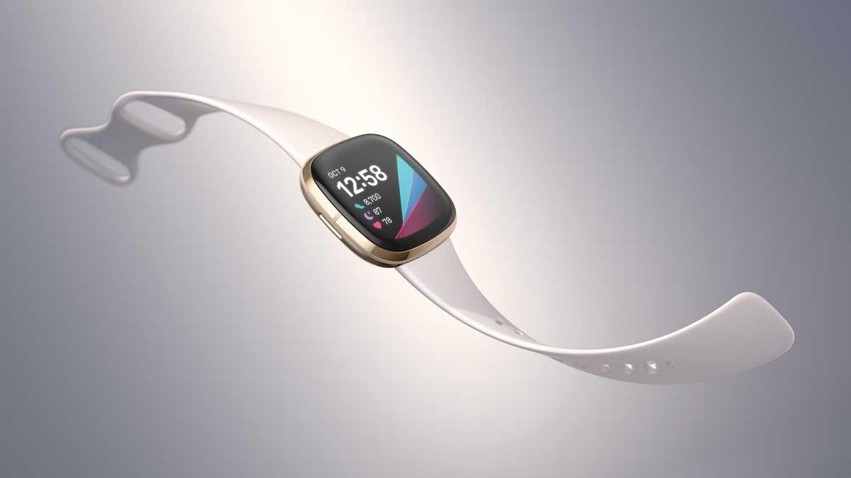 Fitbit sense bracelet connecté santé température