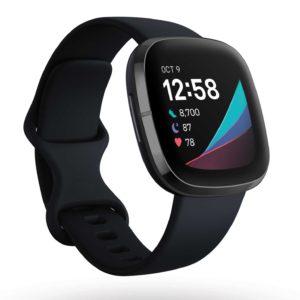 Fitbit sense bracelet yoga méditation santé température