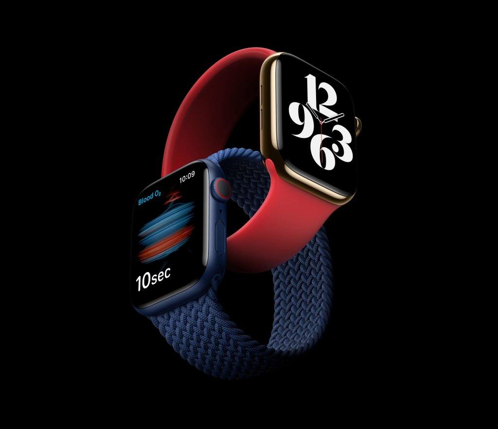 Apple Watch Series 6 et SE