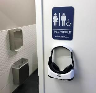 Pee World VR application pipi réalité augmentée