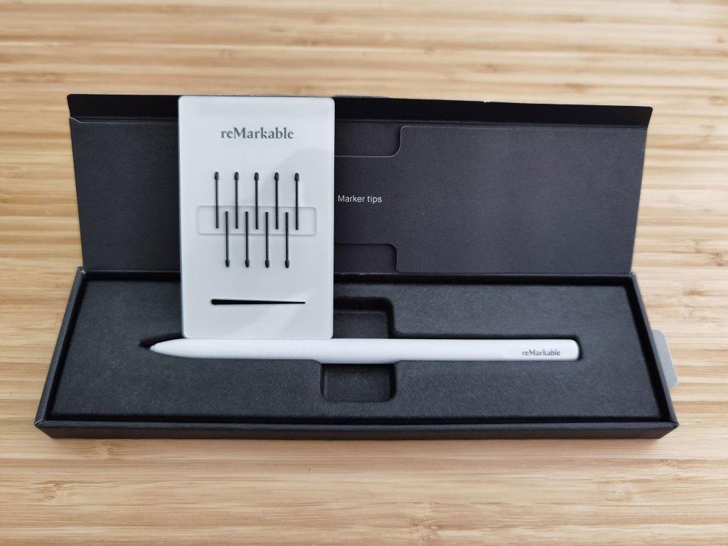 tablette remarkable stylets marker