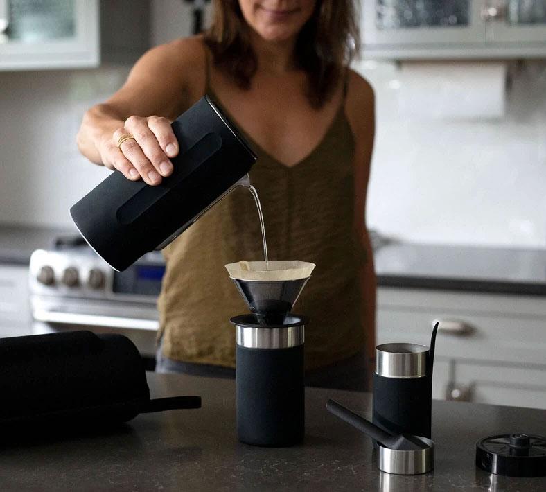 Kit café coffee Pakt de voyage idée cadeau