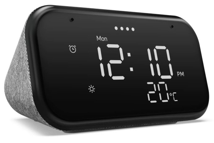 lenovo smart clock mini essential assistant google