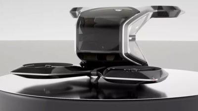 Auto volante Halo GM General Motors CES 2021