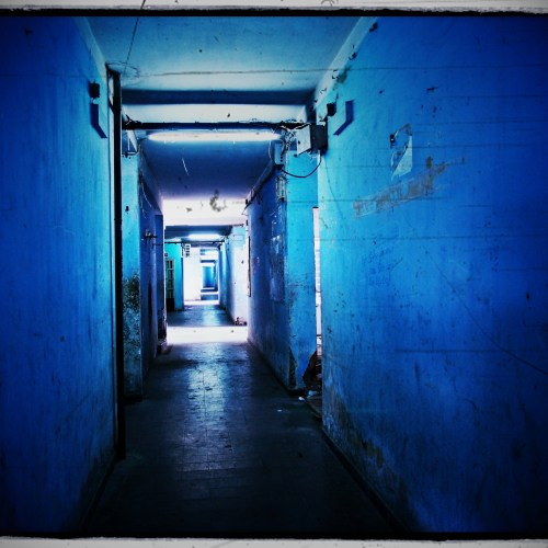 the blue corridor | Saigon Vietnam photo workshop with nicolas pascarel www.pascarelphoto.com