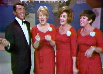 Dean Martin and The Andrews Sisters