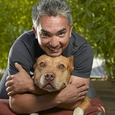 Cesar Millan and Daddy