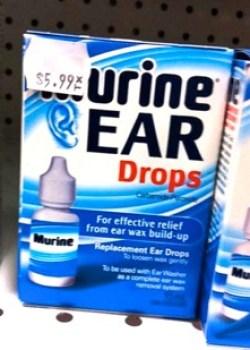 Urine Ear Drops