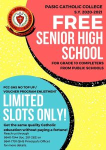 Free Senior High School!