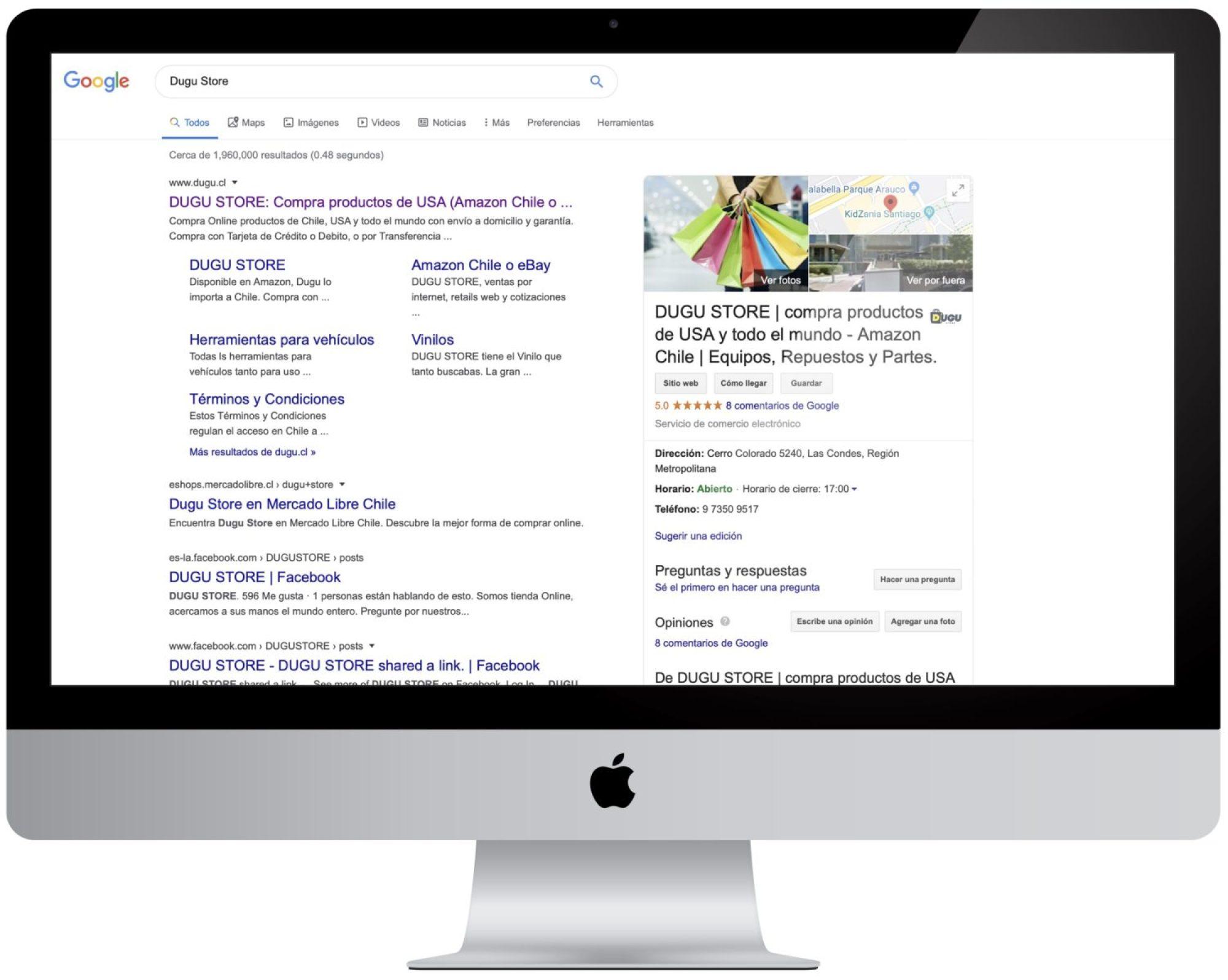 Página Web con SEO - Optimizada - Mejor SERP