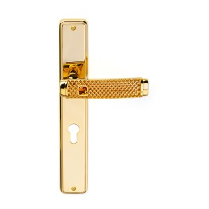 Handle on plate handle in gold 24kt Dream Jewellery