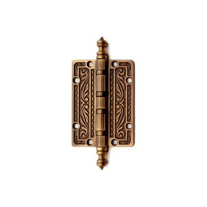 Little hinge in bronze brass Queen Classique