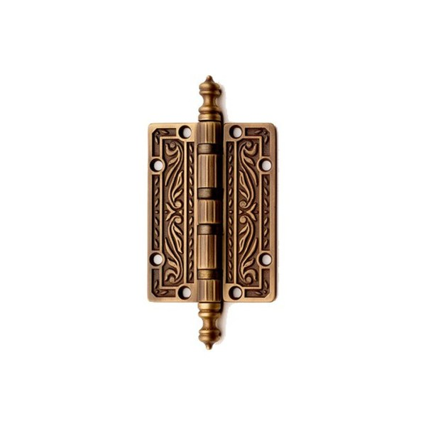 Little hinge in bronze brass Queen Classique
