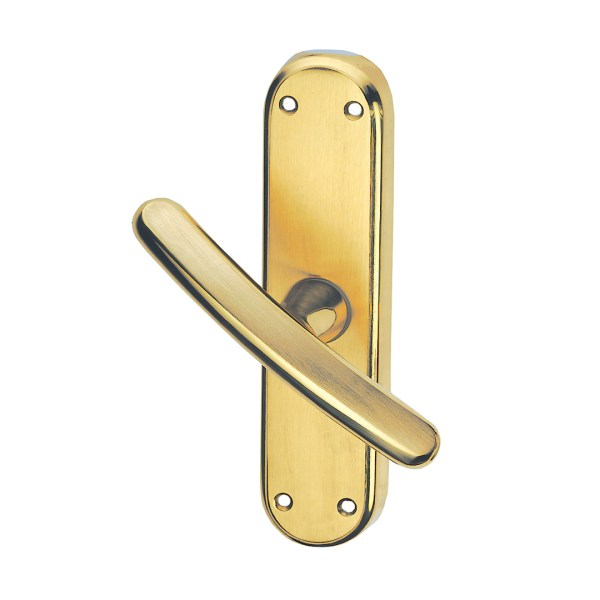 Window handle satin brass giza classique