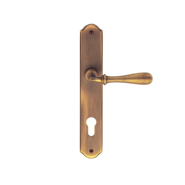 Handle on plate yerster bronze brass urbino classique