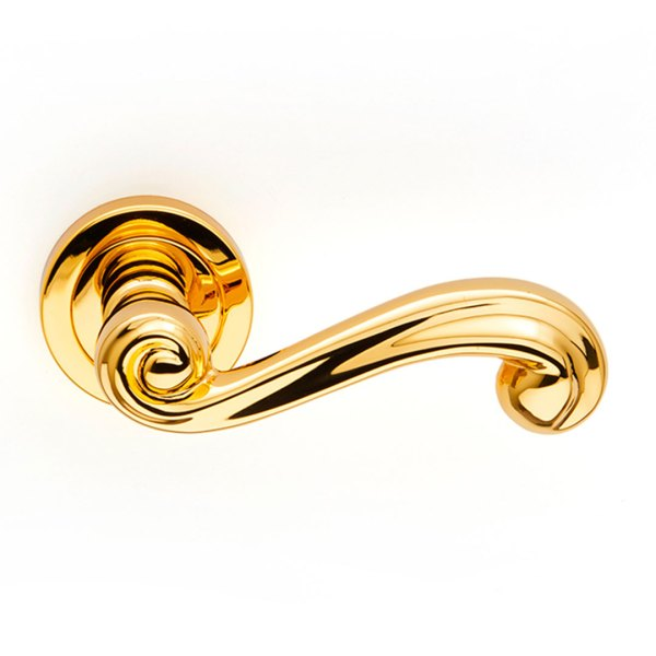 Handle on rose gold 24kt sirio classique