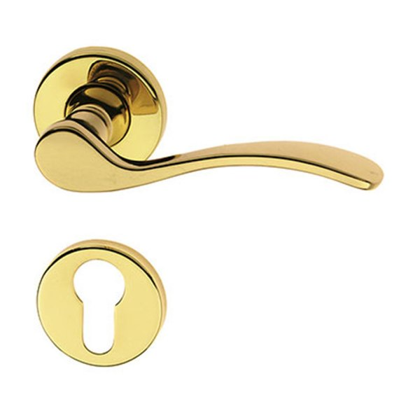 Handle on rose polish brass anna-easy-2