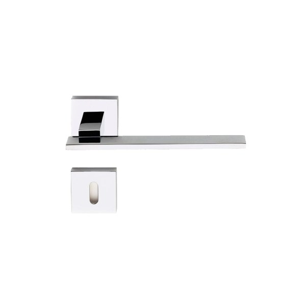 Handle on rose chrome Milano i-Design