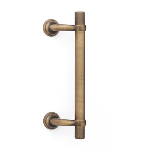 Pull handle yester bronze brass royal righe classique