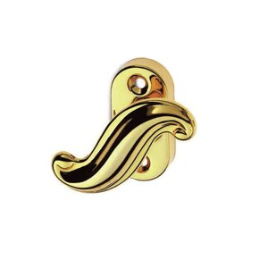 Window handle polish brass asia classique