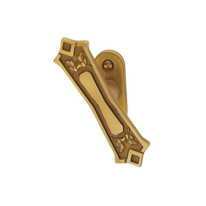 Window handle yester bronze brass king classique