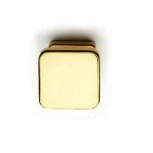 Knob polish brass corolla classique