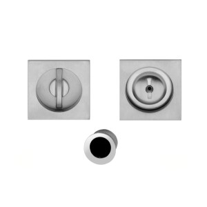 Kit flush handle satin chrome Gubbio i-Design