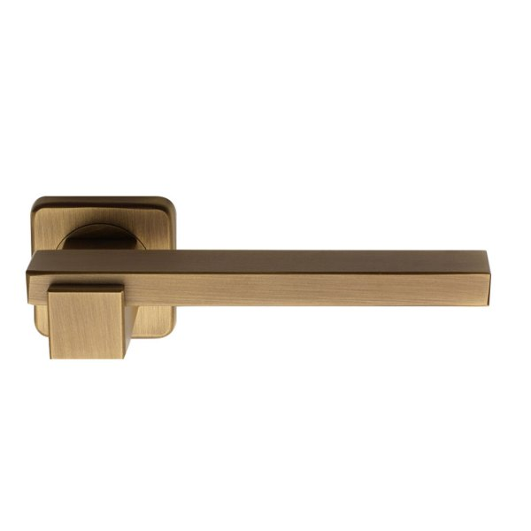 Handle on rose yester bronze brass plus line fashion