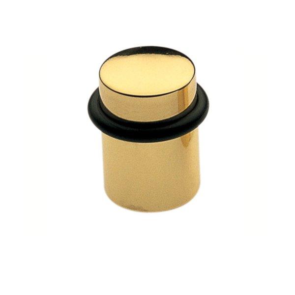 Ferma porta ottone lucido verniciato Cilindro