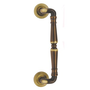 Pull handle bronze brass Mod. 800 moved feet Classique
