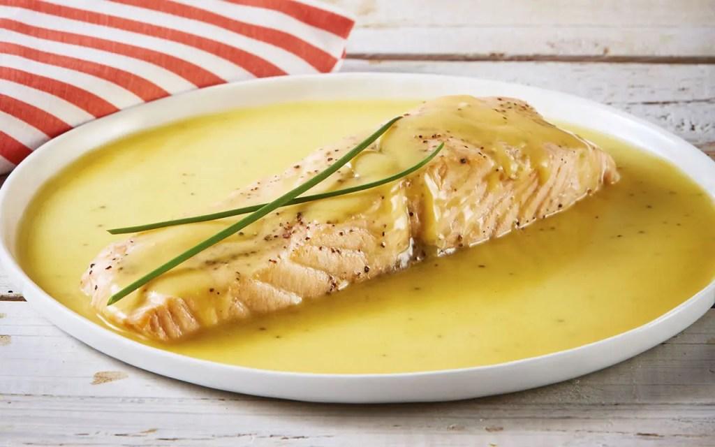 receta de Salmón en reducción de mostaza y naranja en Thermomix