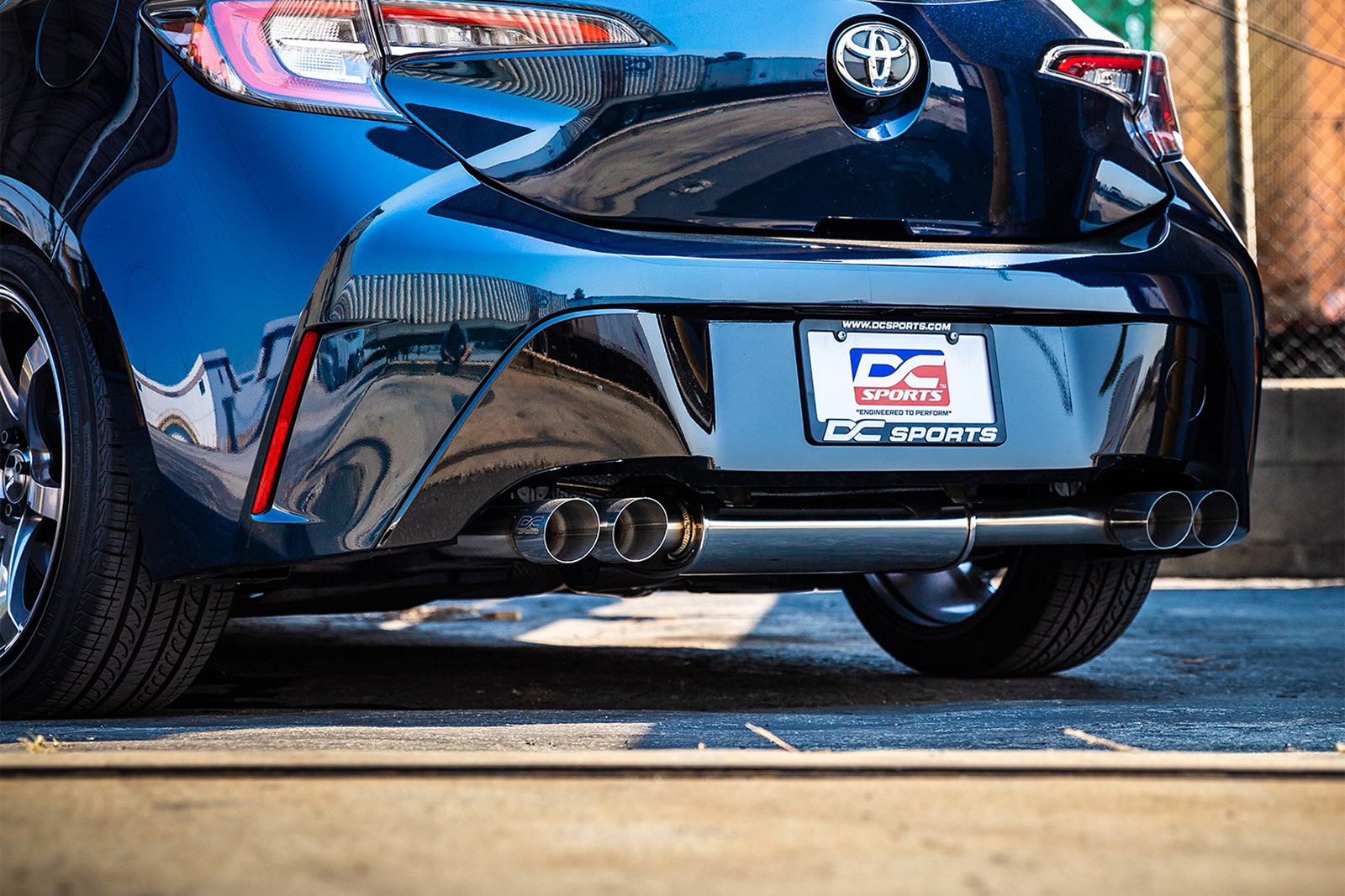 dc sports stainless steel exhaust