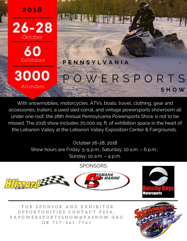 28th Annual Pennsylvania Powersports Show