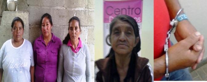 Confabulación del sistema jurídico para sentenciar a las  defensoras y defensores detenidos en Marcala