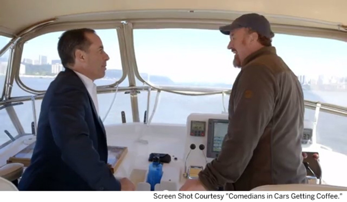 Go Boating With Comedians Jerry Seinfeld And Louis Ck Passagemaker
