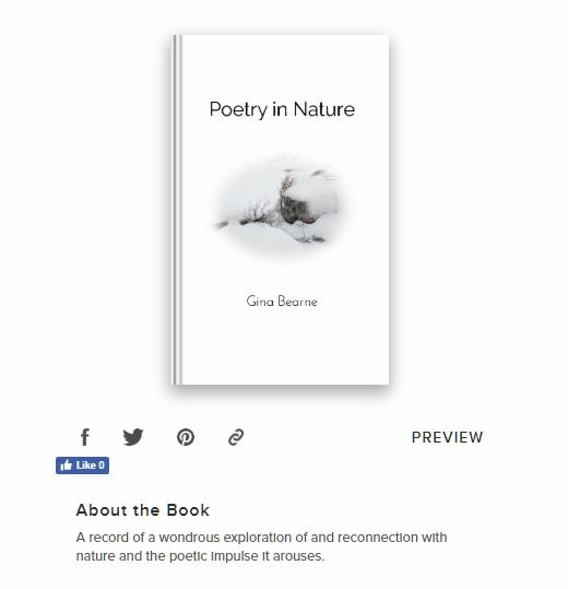 Image of book 'Poetry in Nature' on Blurb