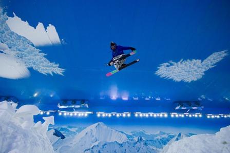 Parque de neve Snowland  é inaugurado em Gramado