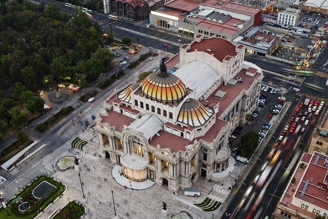 Palacio de Bellas Artes_Cidade do mexico