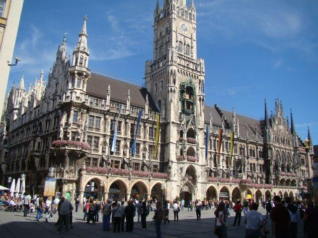 Munique-Marientplatz