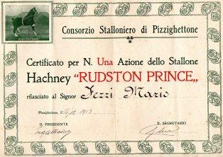 1913 Consorzio Stalloniero di Pizzighettone Mantova