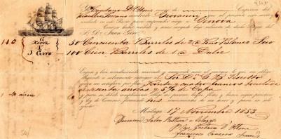 1853 Malaga per Genova