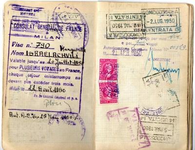 1949 Statodi Israele Ril. a Roma----