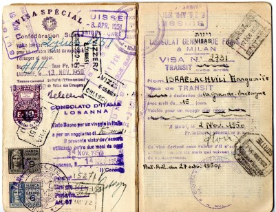 -1949 Statodi Israele Ril. a Roma------