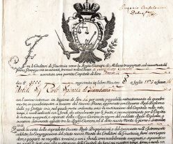 1765 Monte di Milano - Milano 17-02-1765