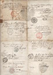 1818 Austria Lombardo-Veneto Consolato di Parigi per Praga (2)