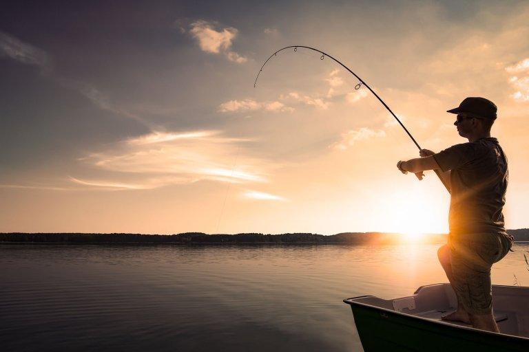 spedire l'attrezzatura da pesca